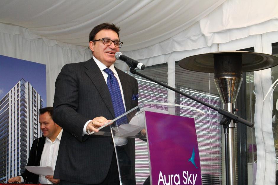 Wieżowiec Aura Sky na kolejnym etapie realizacji