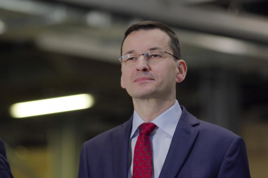 Morawiecki: Chcemy kompromisu w sprawie podatku od marketów