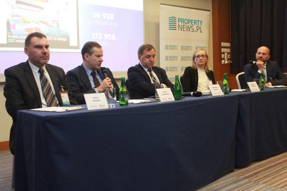 Sesja magazyny na Property Forum Kraków 2016 na zdjęciach