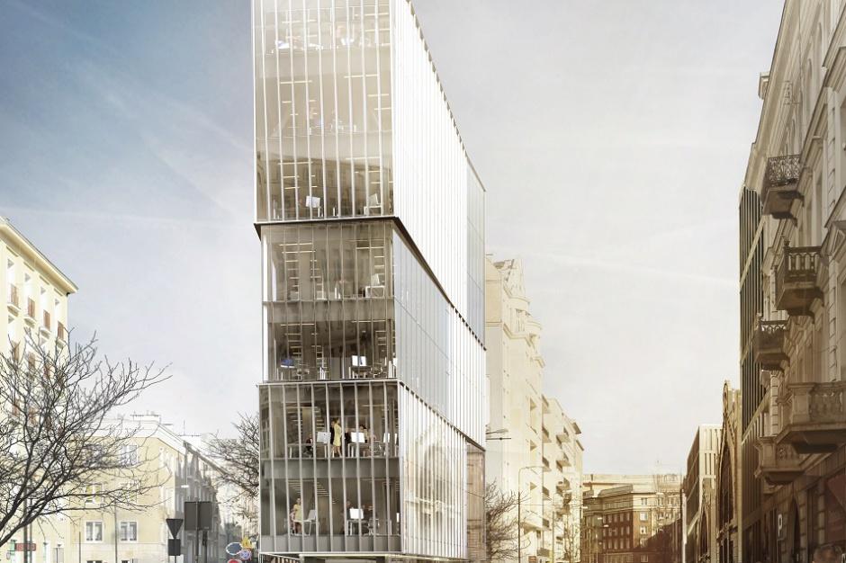 Nowy biurowiec w centrum Warszawy