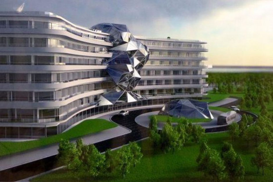 Hotel Gołębiewski w Łebie coraz bliżej budowy