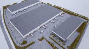 Pierwsza hala Waimea Logistic Park Korczowa na ukończeniu