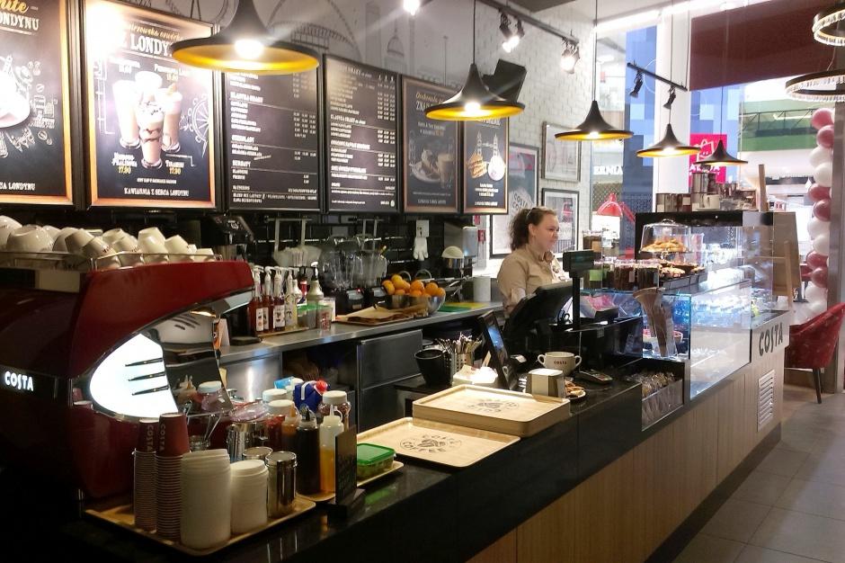Costa Coffee ma trzy nowe kawiarnie