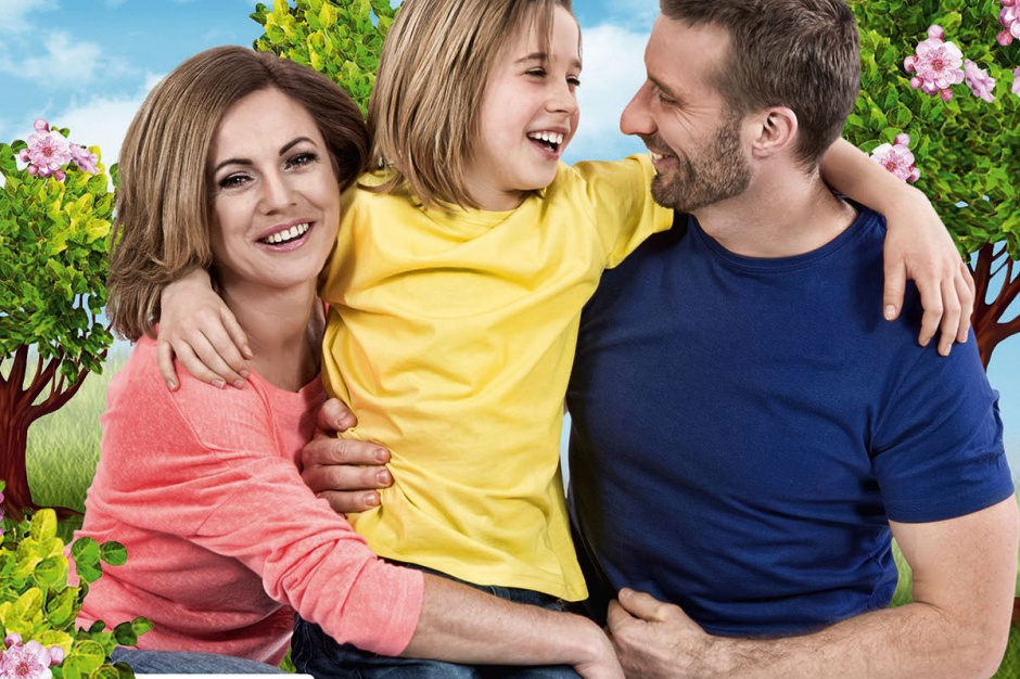 Tomcio Paluch z rodzicami zareklamują gorzowski NoVa Park