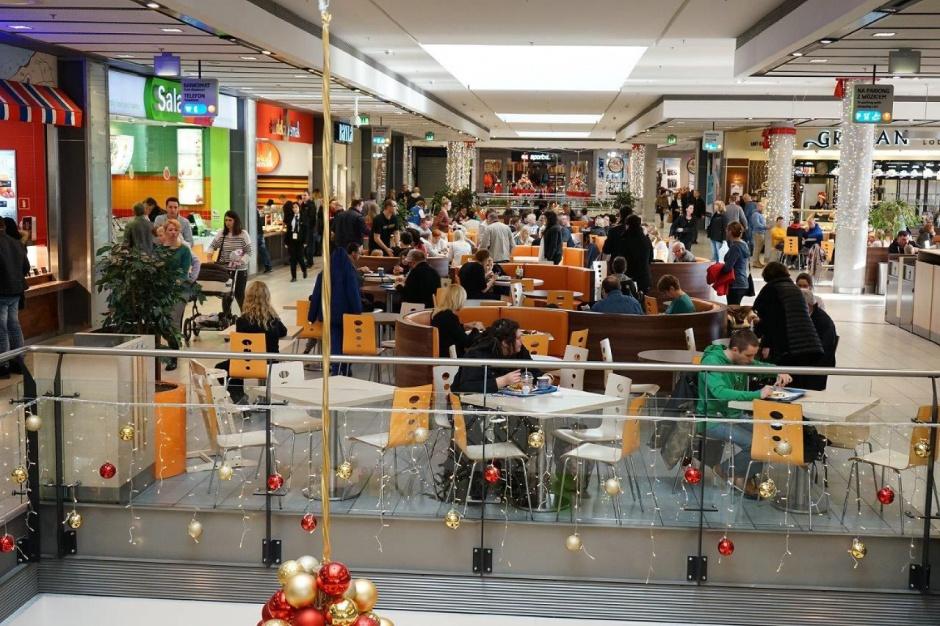 Food court w eleganckim wydaniu