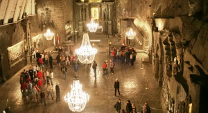 Wieliczka oblegana przez turystów