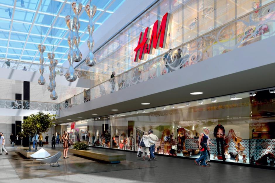 Takiego H&M jeszcze w Polsce nie było