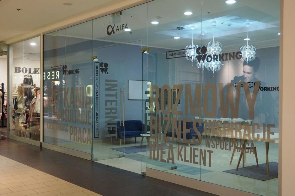Coworking wchodzi do kolejnej galerii handlowej