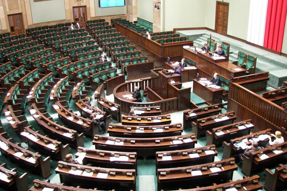 Sejmowy hol do remontu