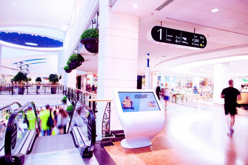 Lokalizator - podstawowe urządzenie dla każdej galerii handlowej