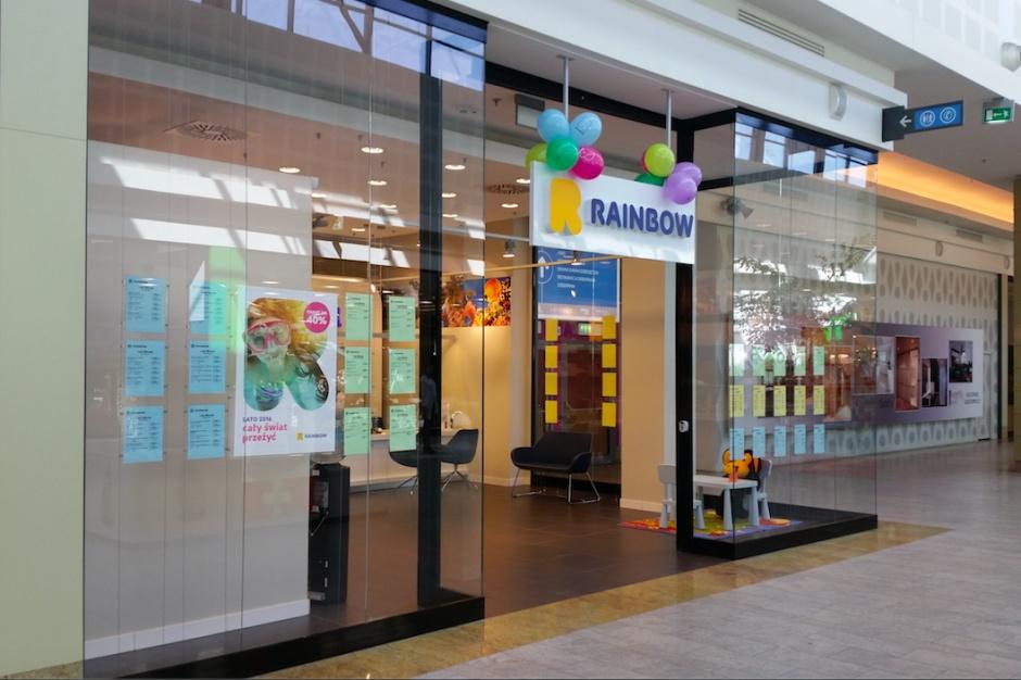 Rainbow w Centrum Handlowym Klif w Gdyni