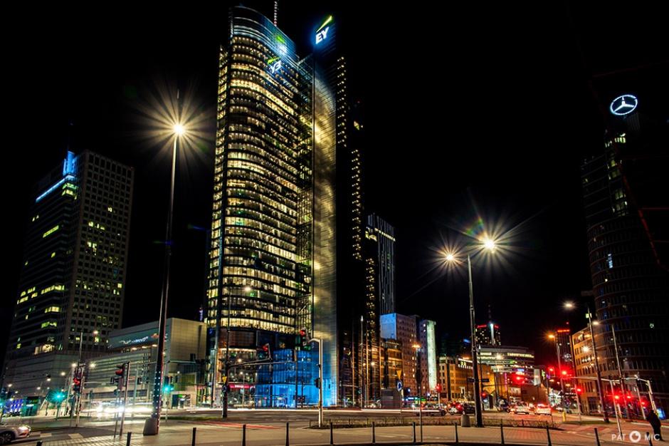 Wybuch w centrum Warszawy. Rondo 1 uszkodzone