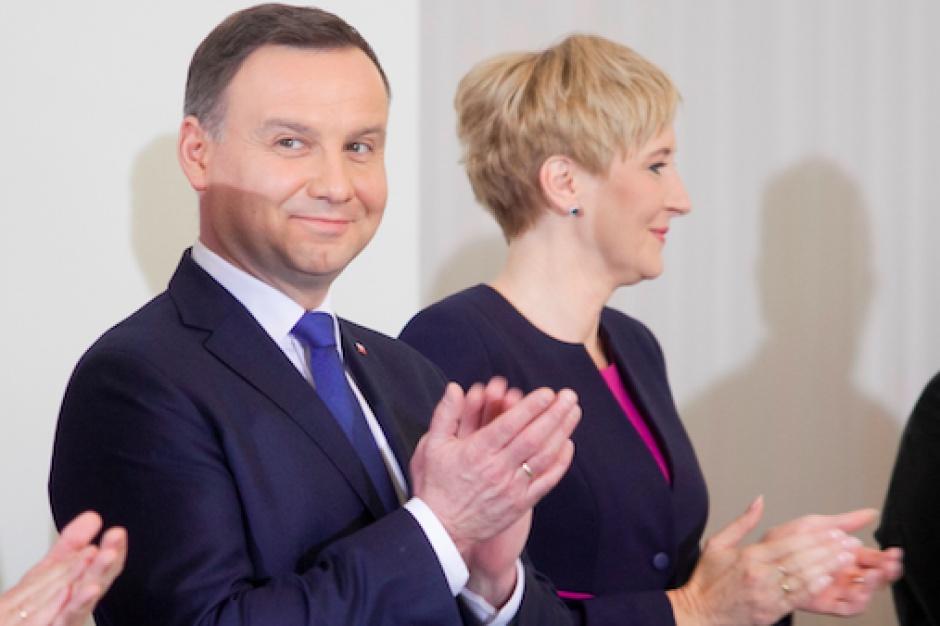 Prezydent Portugalii pełen obaw o podatek handlowy w Polsce. Duda uspokaja