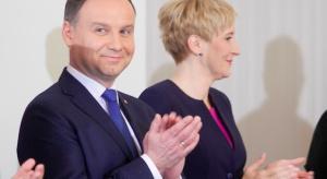 Prezydent Duda o nowym wieżowcu w Warszawie