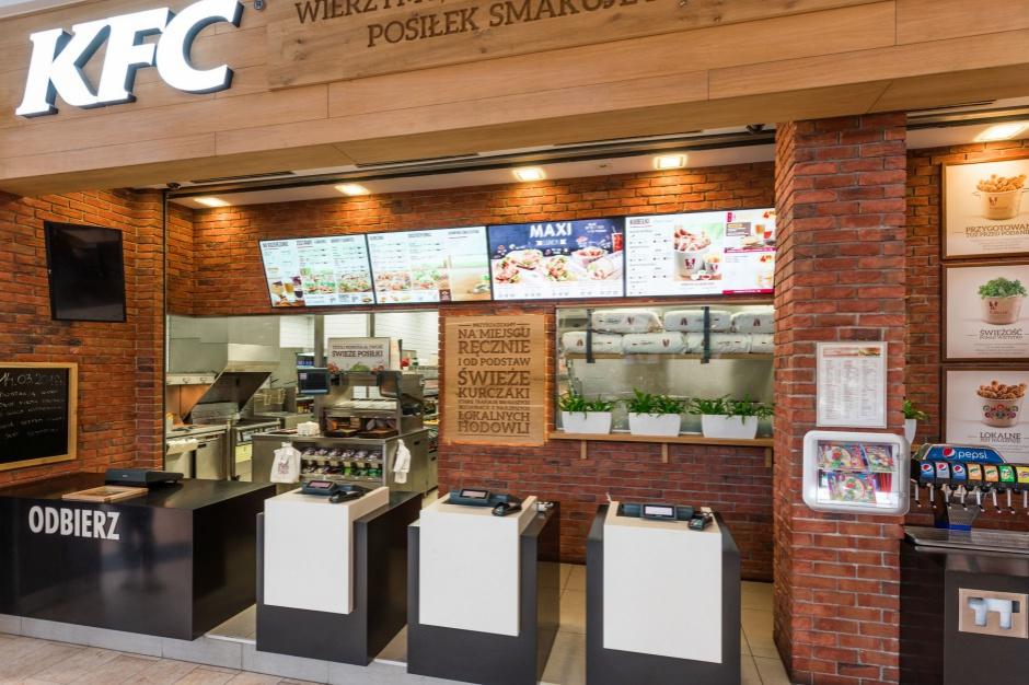Multimedialne KFC w Galerii Echo