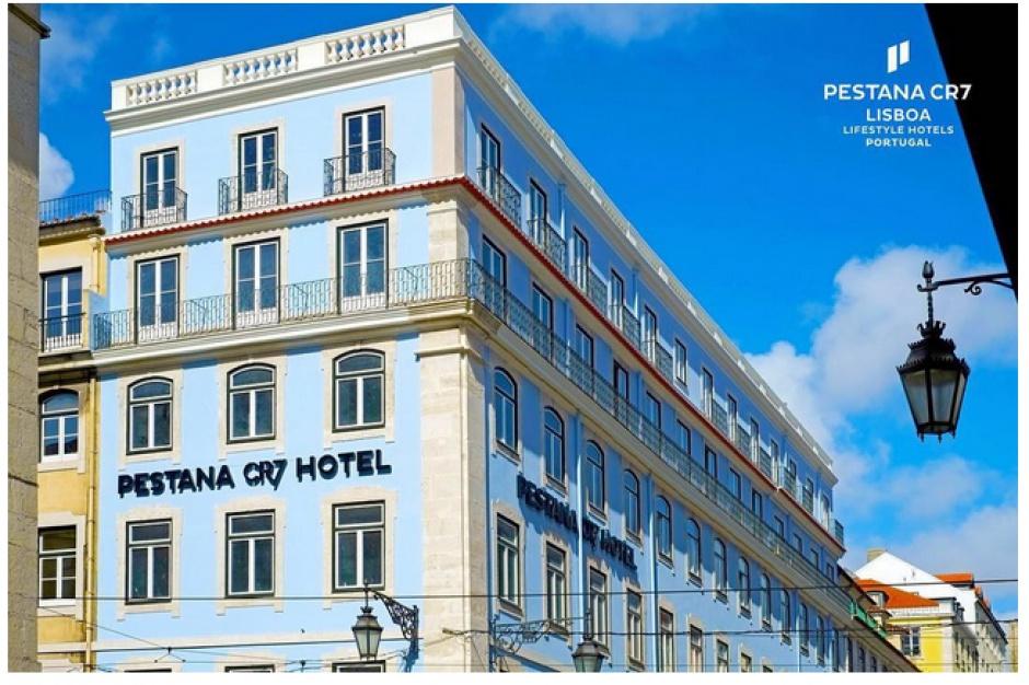 Cristiano Ronaldo pokazał swój hotel