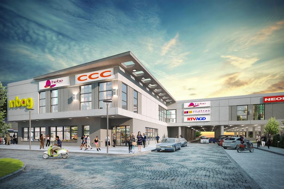 Centrum handlu i komunikacji w Lubaniu przyciąga najemców
