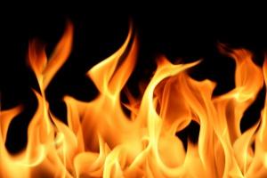 Pożar w zakładzie w Głogowie