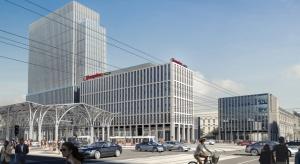 Hilton w centrum Łodzi. Ruszają prace konstrukcyjne