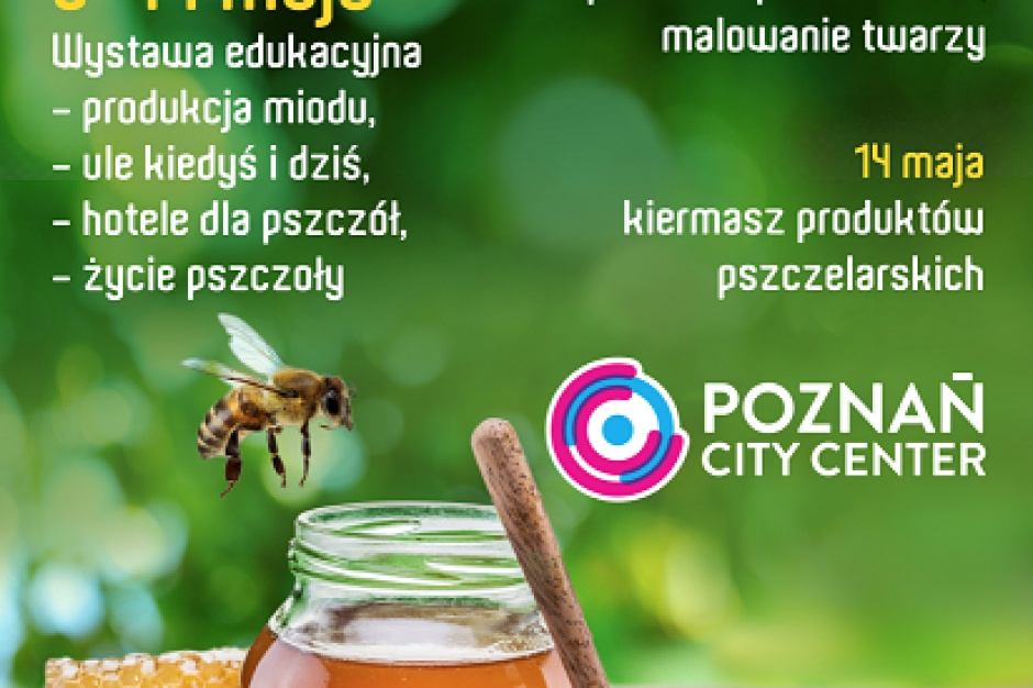 Pszczelarska atmosfera w Poznań City Center