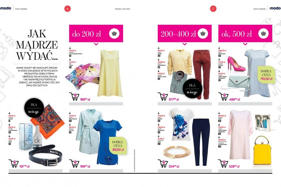 MODO ma własny magazyn zakupowy