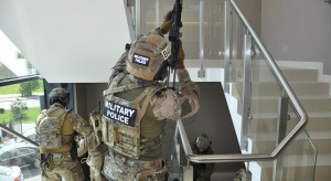 Akcja antyterrorystów w warszawskim hotelu