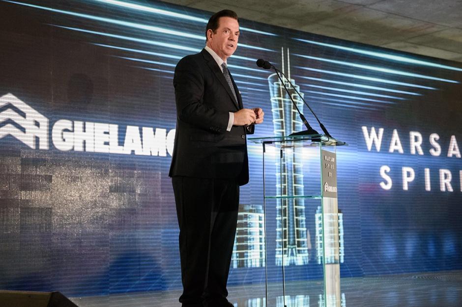 Założyciel Ghelamco: Warsaw Spire to dopiero początek