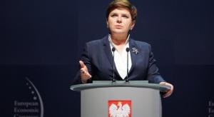 Beata Szydło na EEC: Mamy ambicję budowania silnej gospodarki