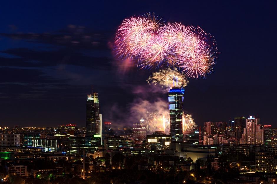 Tak wyglądało otwarcie Warsaw Spire - zobacz fotorelację
