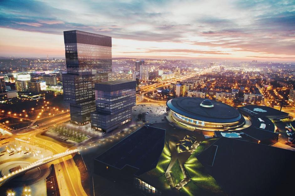 Biurowa wieża Katowic odlicza dni do startu budowy