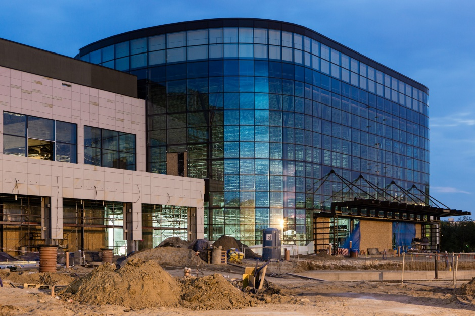 Najszybciej rosnąca budowa w Poznaniu postępuje zgodnie z planem