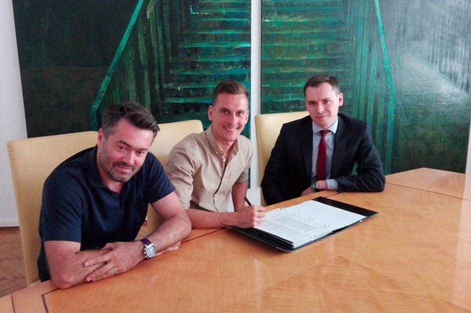 Gwiazda polskiej piłki otworzy klub w Galerii Libero