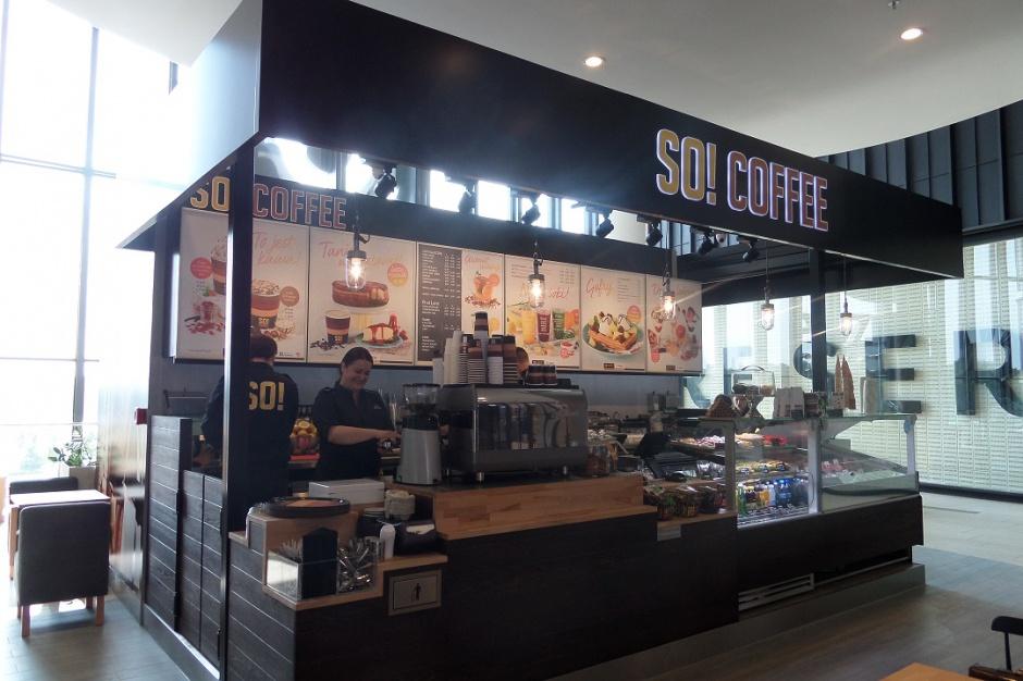 Fitness i kawa przyciąga klientów