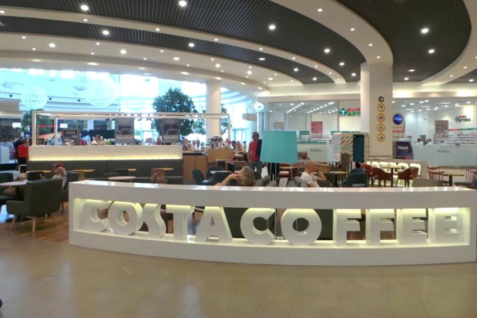 To się nazywa dobre wejście. Costa Coffee w nowej lokalizacji
