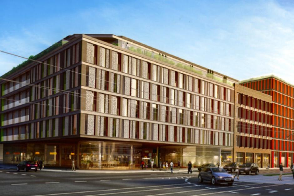 Wewnętrzny pasaż i maksymalnie sześć pięter biur. To nowy biurowec Warimpeksu w Łodzi