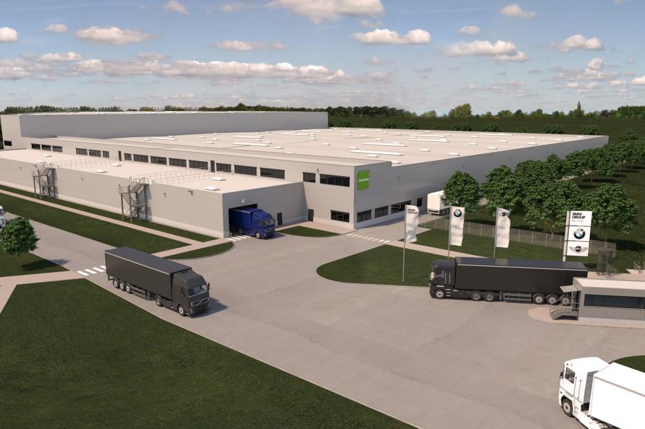 Goodman zbuduje kolejne centrum logistyczne dla BMW