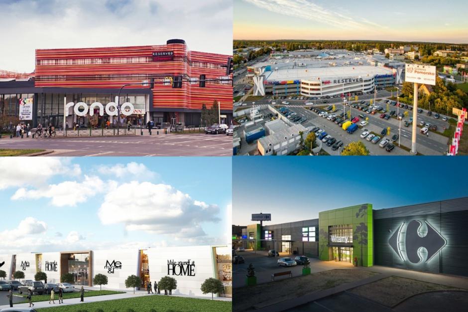 Handlowa mapa Bydgoszczy
