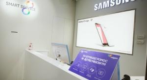 Zainteresowanie warszawskim showroomem Samsunga