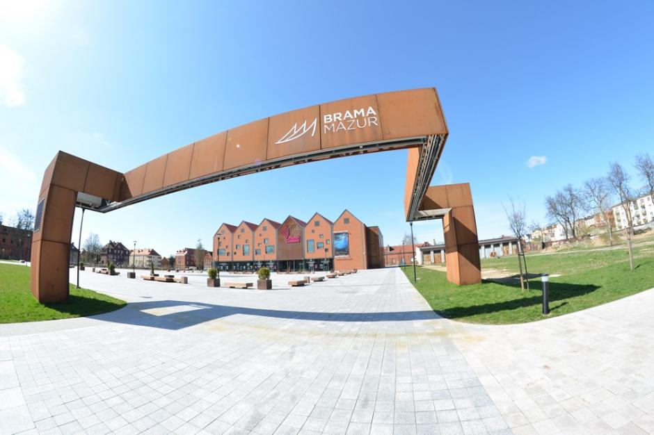 Brama Mazur w komplecie. Tysiąc metrów dla nowego najemcy