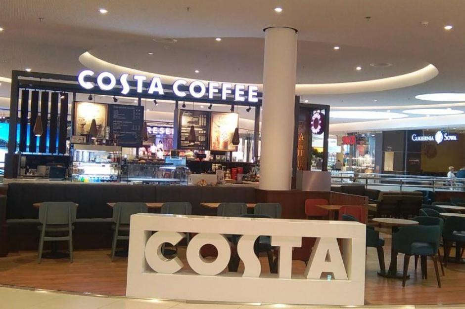 Biurowiec, apartamentowiec i galeria handlowa - nowe punkty na mapie Costa Coffee