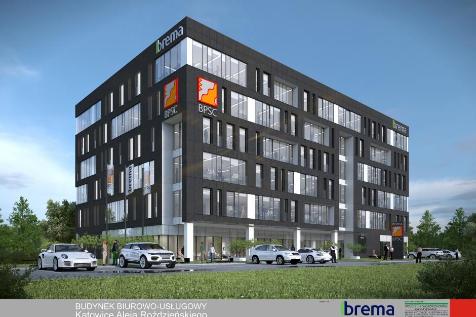 Budowa biurowca Brema wchodzi w nową fazę
