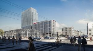 Nowy biurowiec w Łodzi czeka na start