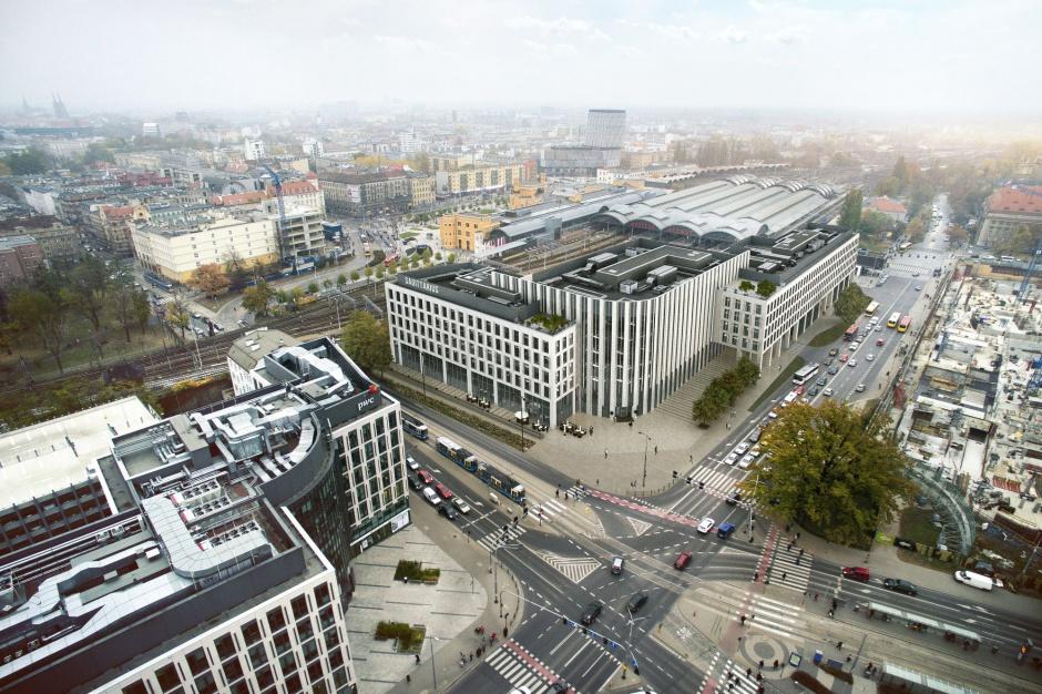 Jest zielone światło dla nowego biurowca Echo we Wrocławiu