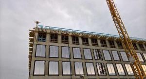 Krakowski biurowiec już prawie gotowy