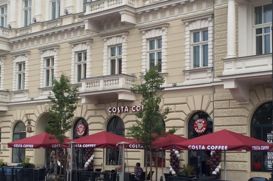 Costa Coffee wraca do prestiżowej lokalizacji