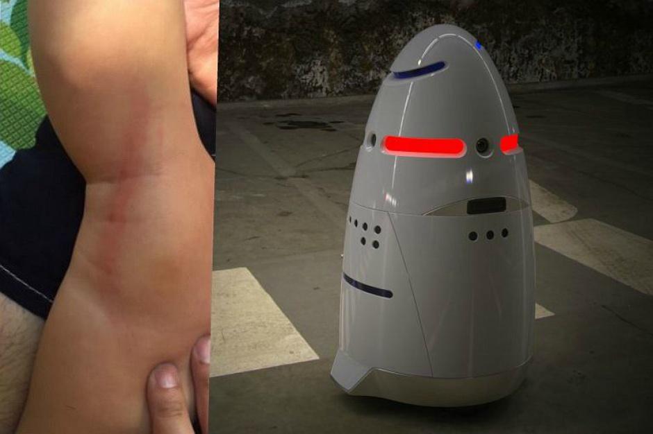 """Wypadek w centrum handlowym: robot """"zaatakował"""" dziecko"""