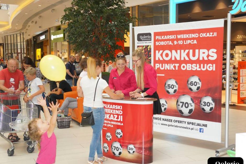 Krakowska galeria kończy piłkarskie wydarzenia