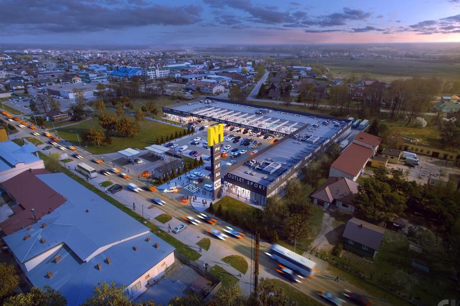 Rośnie park handlowy w Biłgoraju