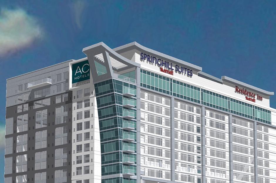 Trzy hotele w jednym budynku