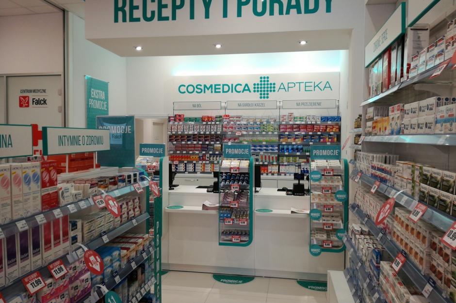 Więcej niż apteka w nowym centrum handlowym w Warszawie